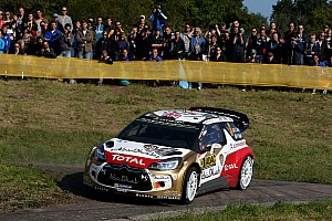 WRC Leg report Citroën : On course for another podium finish