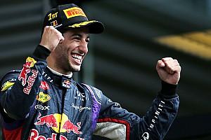 Formula 1 Race report Ricciardo takes a thrilling win at Spa