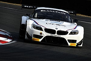 Blancpain Sprint Race report Disappointing Sunday race for Alessandro Zanardi at Slovakia Ring