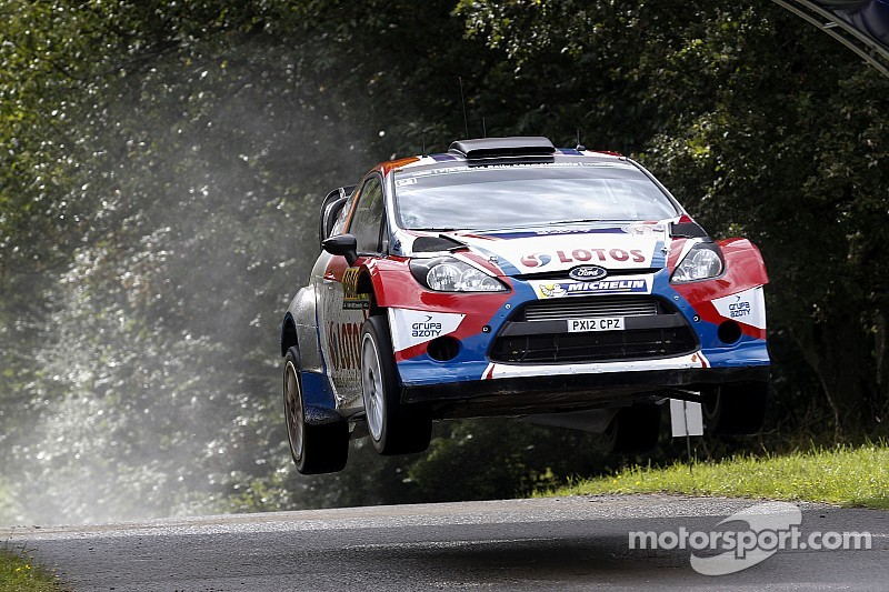Cruel misfortune for Kubica at Rally Germany