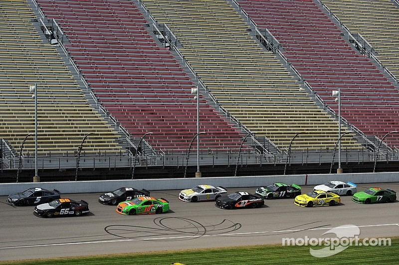 NASCAR's version of back to the future - Michigan test offers 2015 solution