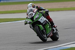World Superbike Practice report Baz storms to first place on opening day