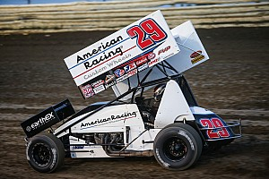 World of Outlaws Race report Madsen wins at Antioch in closest Outlaws finish ever