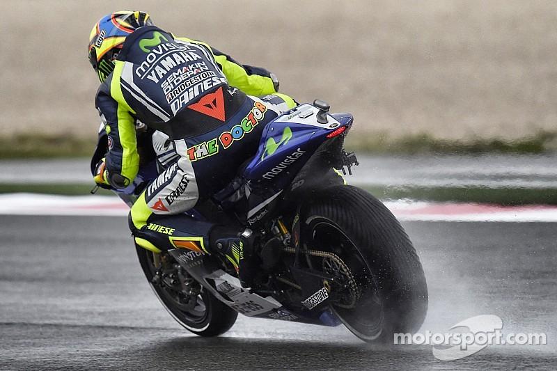 Rain sets the pace as Misano MotoGP begins
