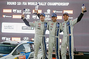 WRC Race report Ogier takes Rally Australia victory in a VW 1-2-3