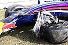 Ricciardo takes blame for FP2 crash