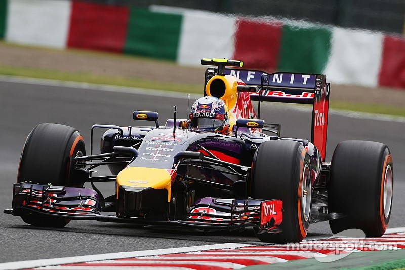 Red Bull had pace for both cars to get into Q3 at Suzuka
