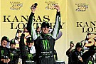 Kyle Busch overcomes Kansas 'curse' to win Nationwide race