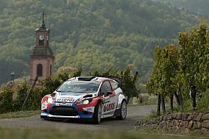 WRC Race report Kubica's impressive drive cut short at Rallye de France