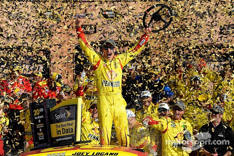 Logano wins his way into next round after late-race duel with Larson