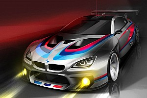 GT Breaking news BMW Confirms M6 GT3 for 2016 BMW