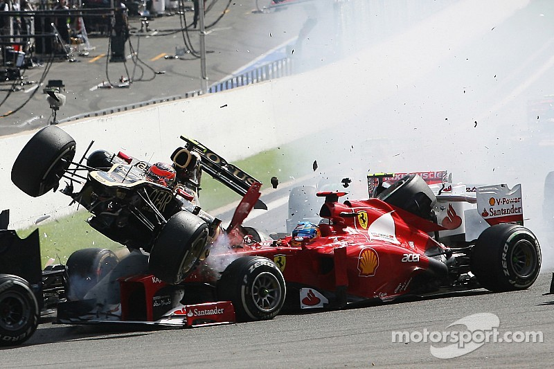 Alonso and others open to closed cockpit idea, notes how close to death he came at Spa 2012