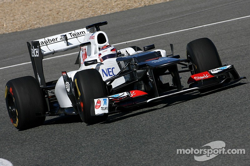 Adderly Fong and Roy Nissany will test a Sauber C31