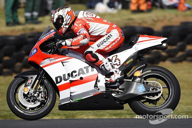 Ducati Team conclude first day of practice for the Malaysian GP