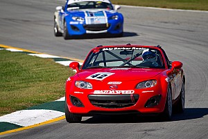 SCCA Breaking news Battery Tender replacing Playboy as sponsor for SCCA Mazda MX-5 Cup