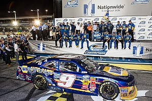NASCAR XFINITY Breaking news Chevrolet clinches Bill France Performance Cup for Nationwide series