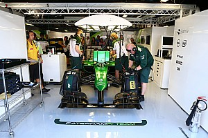 Formula 1 Breaking news Caterham 'busy' setting up in Abu Dhabi