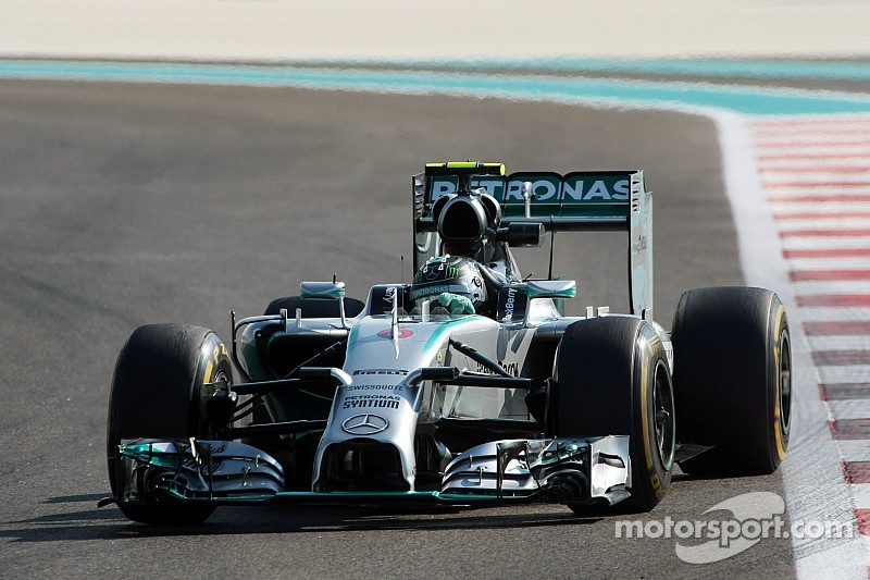 Mercedes kicked off the weekend in Abu Dhabi at the top of the time sheets