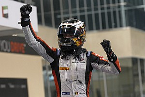 FIA F2 Race report Vandoorne dominates Feature Race at Yas Marina