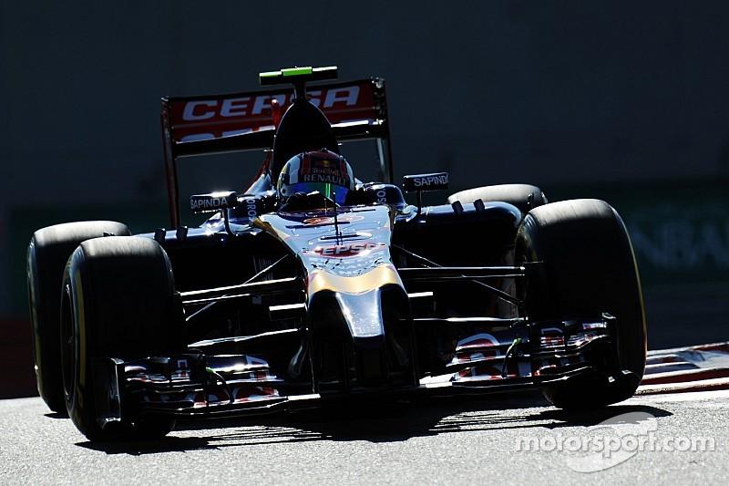 Daniil Kvyat pushes hard and qualify in 7th for tomorrow's  Abu Dhabi GP