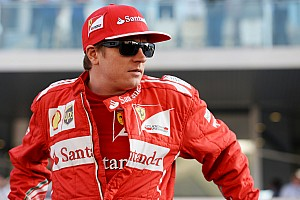 Formula 1 Interview Raikkonen upbeat about 2015 – or as upbeat as Kimi gets