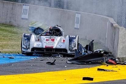 New photos emerge of Loic Duval's horrifying Le Mans crash