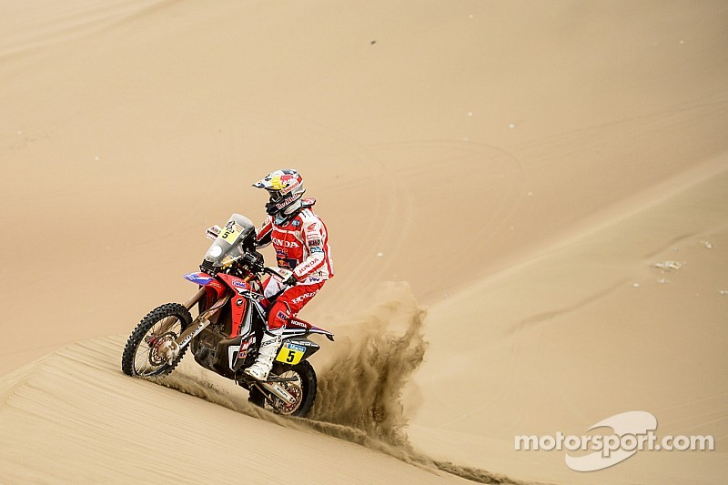 Ninth stage of Dakar a day of redemption for some