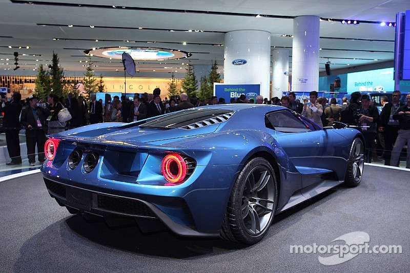 from the detroit auto show motorsportcoms top 10 - 2015 Ford Gt Auto Show
