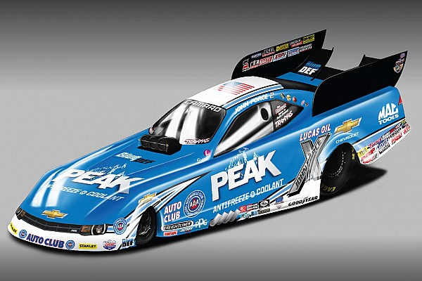 John Force Racing to take Chevrolet Camaro down track in 2015