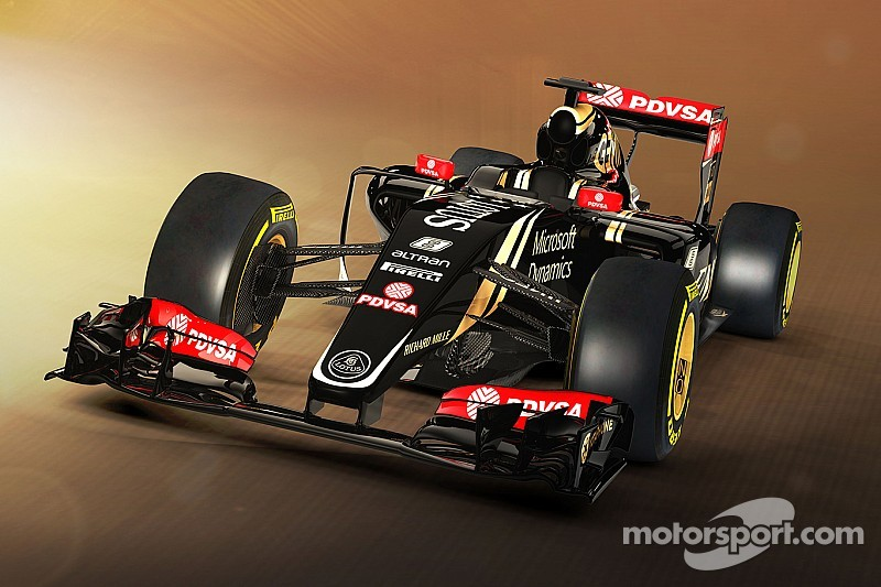 The Lotus E23 in numbers
