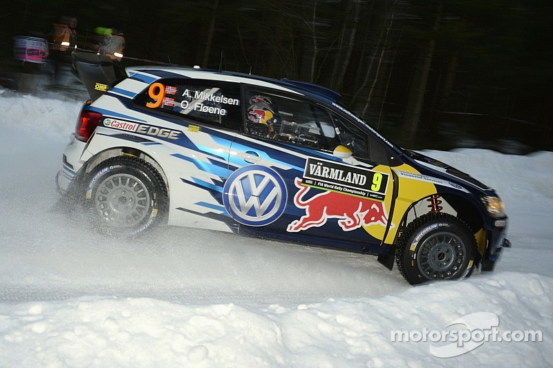 Mikkelsen takes lead in Sweden after Ogier and Latvala crash