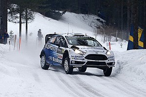 WRC Leg report Solid start for M-Sport in Sweden