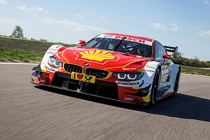 BMW reveals new Shell DTM livery