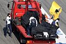 Susie Wolff blames Nasr for 'unnecessary' testing collision