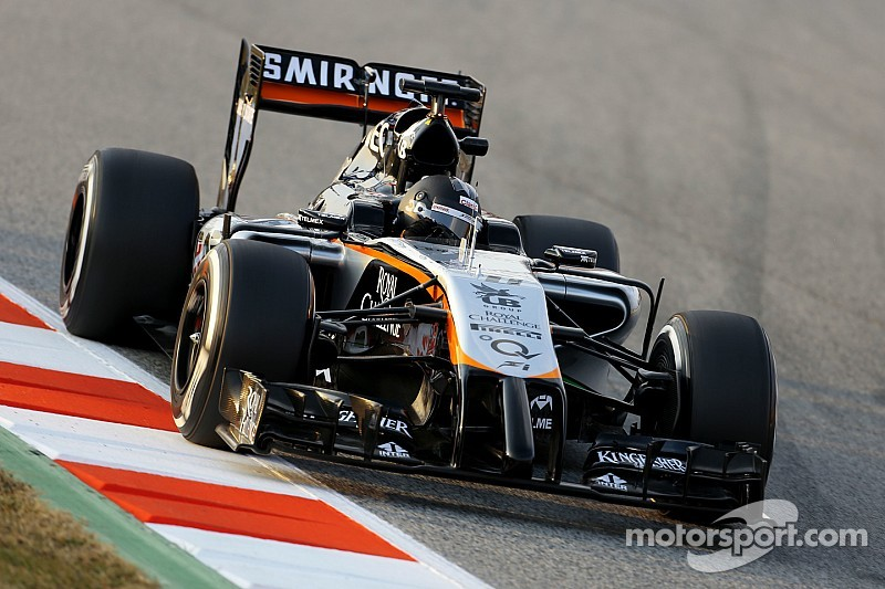 Sahara Force India opened its 2015 season with a positive day of testing at Barcelona