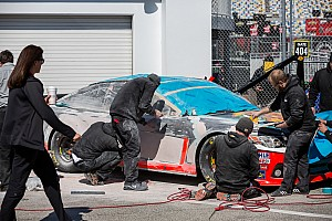 NASCAR Cup Analysis Body work: Teams scramble to repair Duel damage on Friday