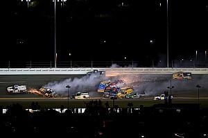 NASCAR Truck Race report Dirty Dozen: 12 truckers wiped out in Daytona wreck