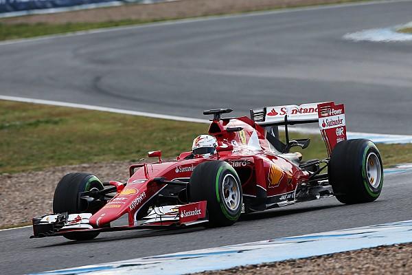 Ferrari se luce en Jerez