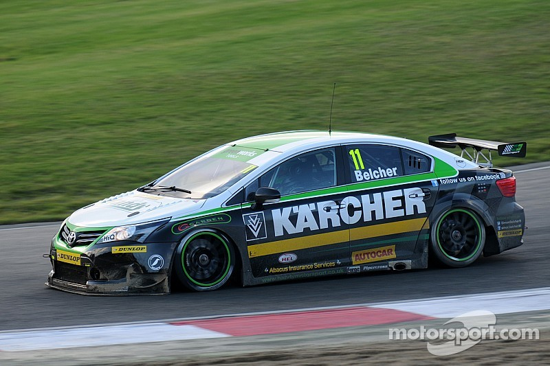 Pre-season testing starts strongly for Belcher at Silverstone