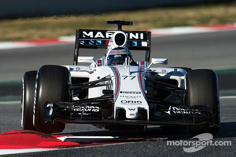 Williams: We're working hard to chase down Mercedes