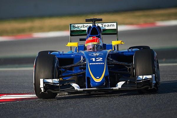 В Sauber потеряли время из-за технических проблем