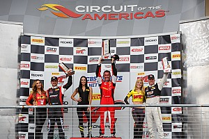 PWC Race report Olivier Beretta makes his Pirelli World Challenge season opener count