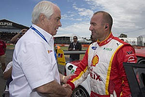 Supercars Interview Roger Penske happy with new V8 Supercar team one race weekend into Ambrose/DJR partnership