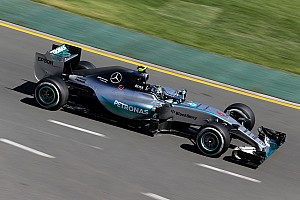 Formula 1 Practice report Rosberg beats Hamilton by 0.029s in first F1 session of 2015