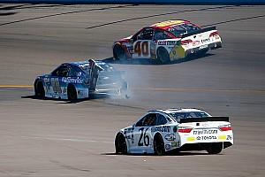 NASCAR Cup Race report Dale Earnhardt Jr.'s run of top-five finishes ends with crash at Phoenix