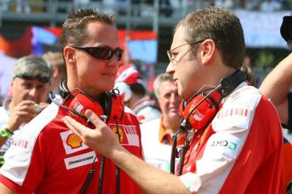 """Stefano Domenicali: """"Schumacher hat niemals das Team beschuldigt"""""""