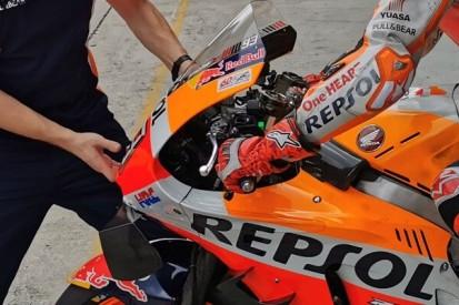 Marc Marquez: Experiment mit Bremse, Verwunderung über Yamaha-Topspeed