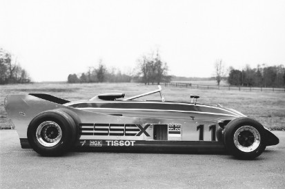 Verboten: Der Lotus 88 mit Doppelchassis für die F1-Saison 1981