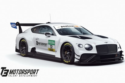 Bentley kehrt mit T3 Motorsport in das GT-Masters zurück