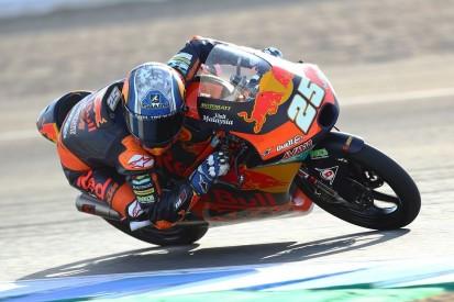 Moto3 Jerez (2) FT1: Fernandez mit Bestzeit, Defekt bei Arenas